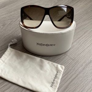 YSL sunglasses womens with case
